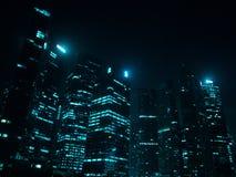 night singapore Στοκ εικόνα με δικαίωμα ελεύθερης χρήσης