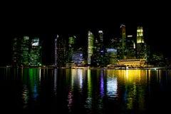 night singapore Στοκ Εικόνες