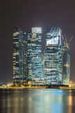 night singapore Στοκ Φωτογραφία
