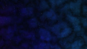 Night Sky. Illustration of Night Sky With Clouds Royalty Free Stock Photography