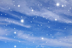 Night sky. A congestion of stars. Astronomy background galaxy Stock Photo
