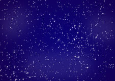 Night sky. The star night sky with set shines stars Stock Illustration