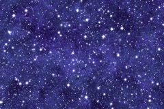 Night Sky. Wallpaper with many stars and dreamy effect Royalty Free Stock Images