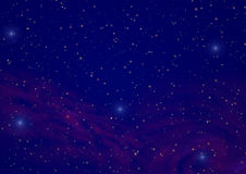 Night sky_2 Royalty Free Stock Image