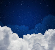 Night sky Royalty Free Stock Images