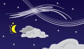 Night Sky Abstract Stock Photo