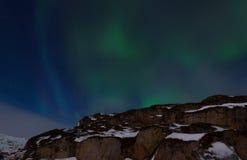 Night sky - aurora Royalty Free Stock Images