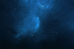 Night sky background Stock Image