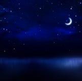 Night sky background Royalty Free Stock Photo