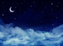 Night sky, background Royalty Free Stock Photo