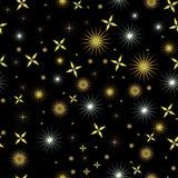 Night sky with bright stars Stock Photo