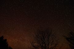 Night sky Royalty Free Stock Photo