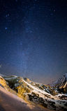 Night sky in Iran mountains Royalty Free Stock Photography