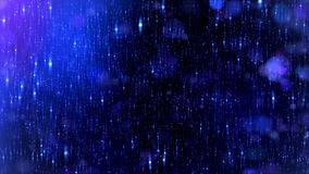 Night Sky Magic background, Blue color.