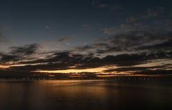 Night Sky in Manila, Philippines royalty free stock photos