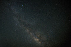 Night sky milky way and stars royalty free stock image