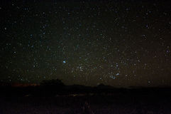 Night sky over Atacama desert Stock Images