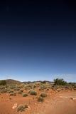 Night sky over the desert Stock Photo