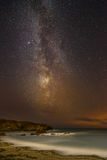 Night Sky Over North Wales. Royalty Free Stock Photos