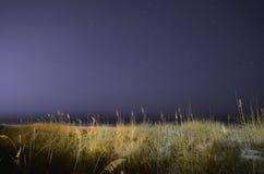 Night sky at Panama City Beach Royalty Free Stock Photo