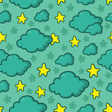 Night sky pattern Stock Photo