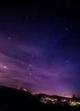 Night sky Stock Image