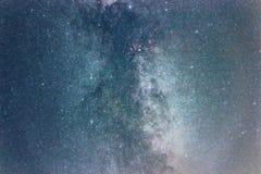Night sky with shiny stars, Milky Way galaxy stock photography
