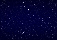 Free Night Sky, Snow, Stars | Vector Christmas Background. Stock Image - 171767471
