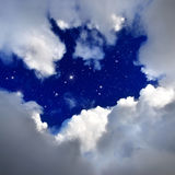 Night sky. Stock Photography