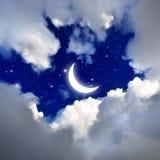 Night sky. Stock Photo