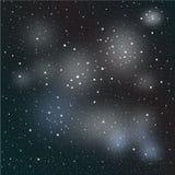 Night sky with stars. Star-field galaxy Royalty Free Stock Photos