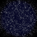 Night Sky with Stars. Great as a background image royalty free illustration