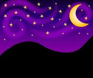 Night Sky Stars Background Royalty Free Stock Photos