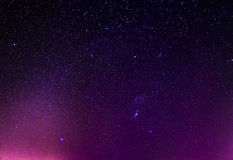 Night sky stars background Royalty Free Stock Image