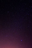 Night sky stars background Stock Images