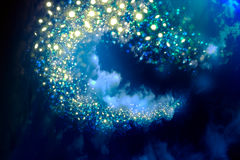Night sky with stars. Beautiful background of the night sky with stars Royalty Free Stock Photography