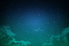Night sky with stars Stock Image
