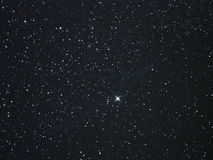 Night sky stars, Cygnus constellation star Royalty Free Stock Images