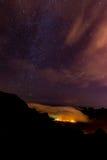 Night sky stars royalty free stock photography