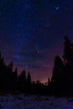 Night sky stars III Royalty Free Stock Image