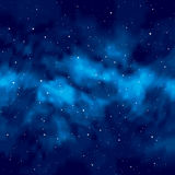 Night sky with stars Stock Photo