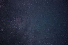 The night sky . stars stock images