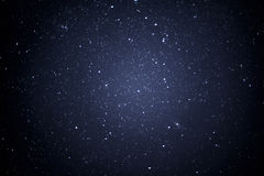 Night sky with stars. Shot royalty free stock image