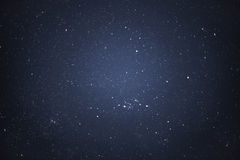 Night sky with stars stock photos