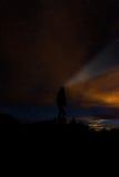 Night sky stars stock photography