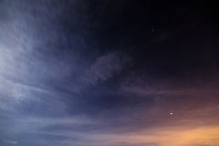Night sky with stars space Royalty Free Stock Photography