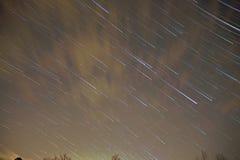 Night sky and stars timelapse footage. Night sky and stars timelapse  footage Stock Images