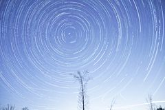 Night sky and stars timelapse footage. Night sky and stars timelapse  footage Royalty Free Stock Photos