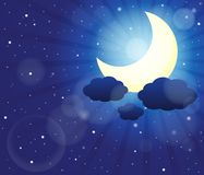 Night sky theme image 3 Stock Photos