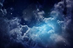 Night Sky With Stars. Stock Photography